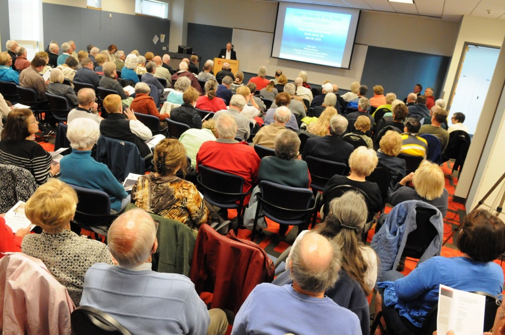 Water Tension and the Great Lakes Compact - SHSS Inaugural Presentation
